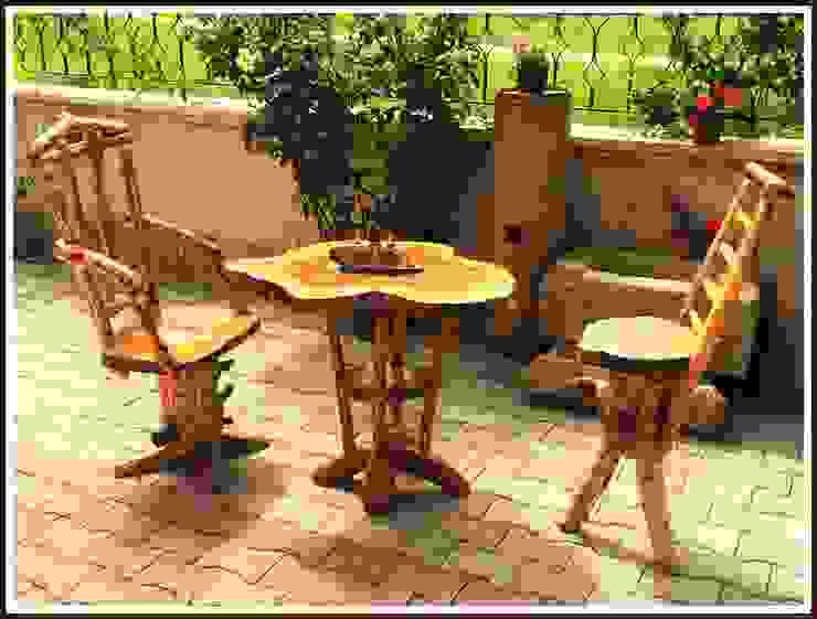 ceviz masa&sandalye gurubu Coşkun Ahşap Dekorasyon Rustik Ahşap Ahşap rengi