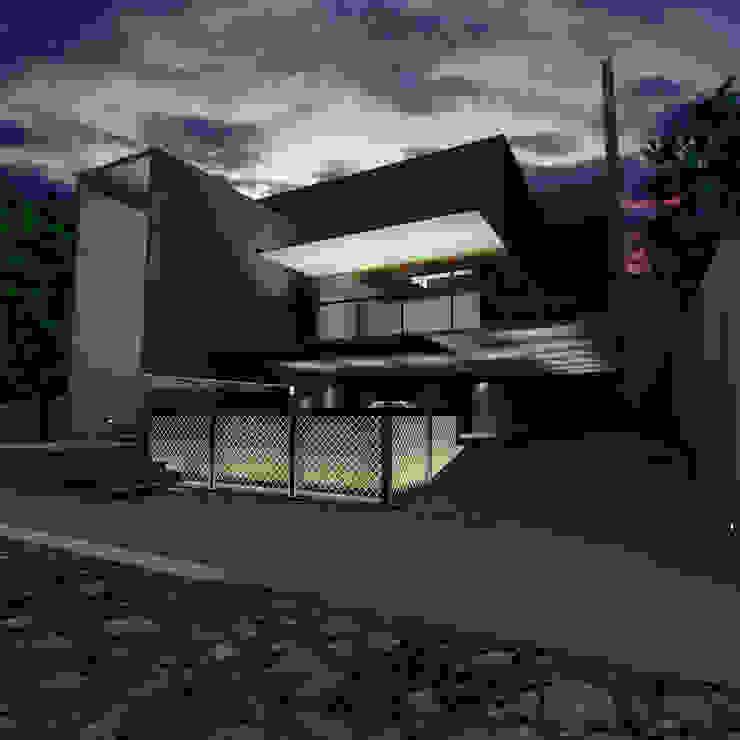 Casa Gonzalez Casas minimalistas de Atelier X Minimalista