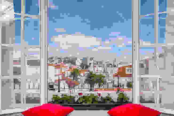 Cuartos de estilo rústico de alma portuguesa Rústico