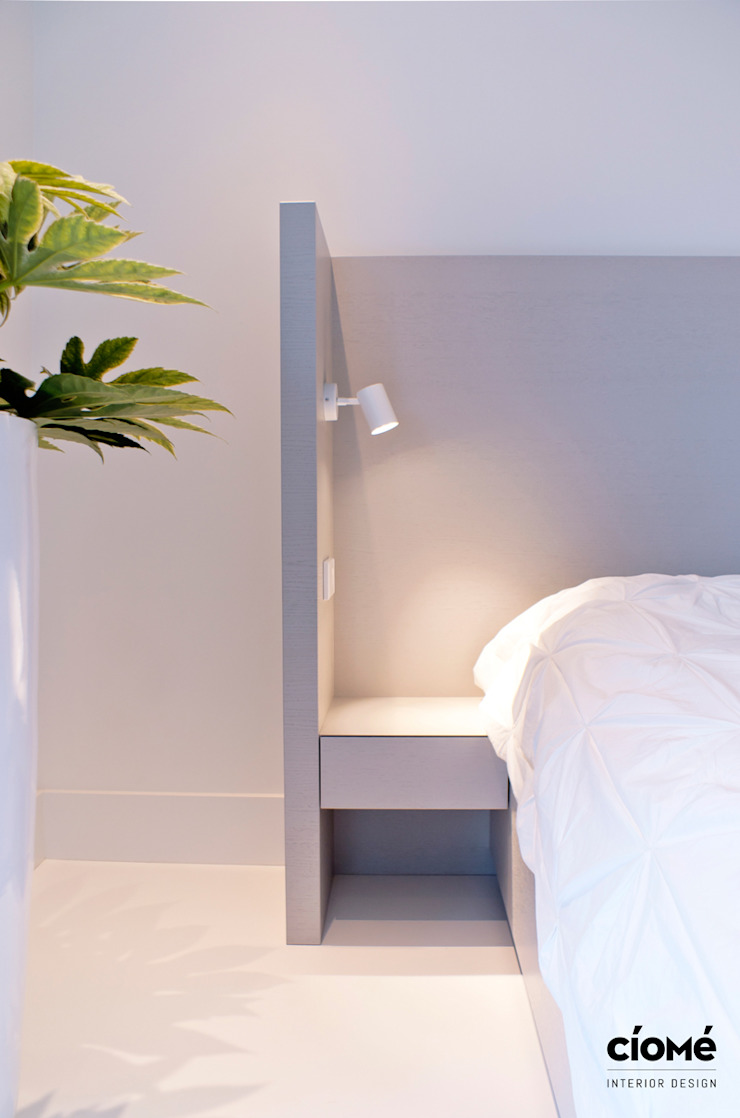 Private residence Minimalistische slaapkamers van CioMé Minimalistisch