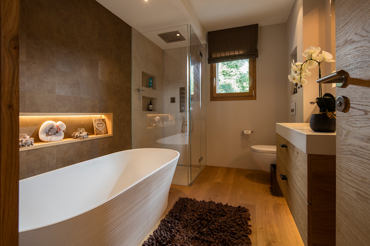 Modern bathroom by BAUR WohnFaszination GmbH Modern