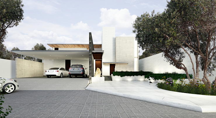 Modern houses by OTRA ARQUITECTURA S.C. Modern