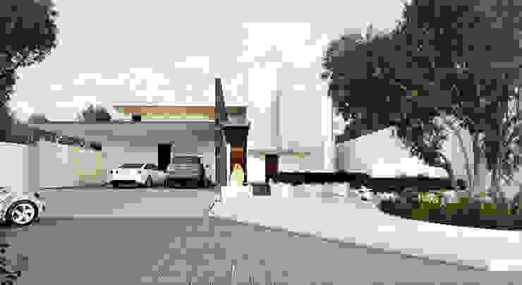 Fachada principal Casas modernas de OTRA ARQUITECTURA S.C. Moderno