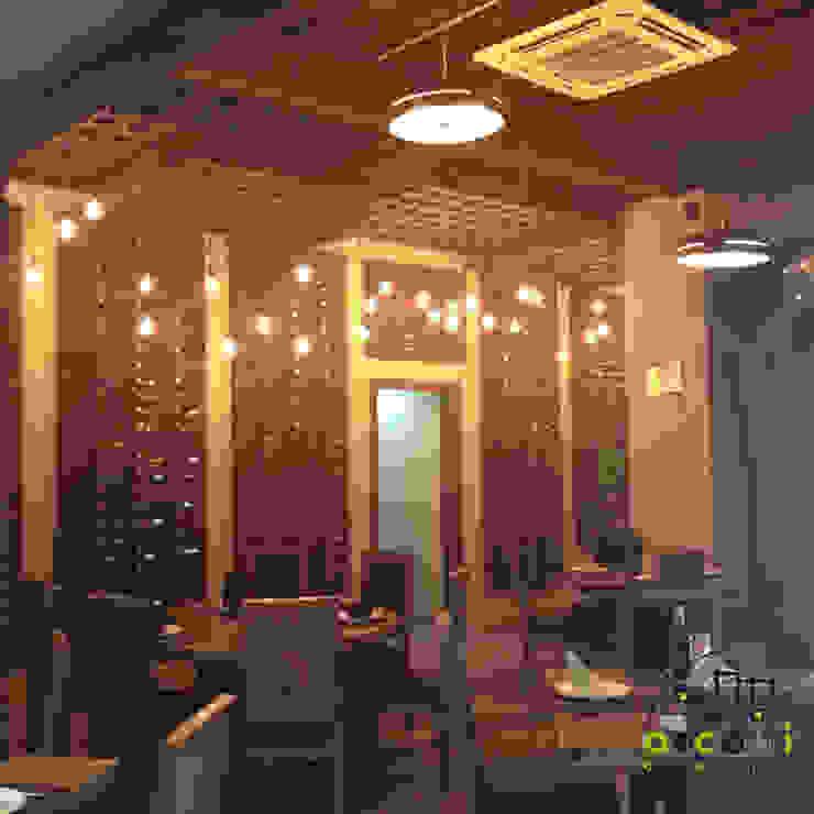 Área de Comensales Gastronomía de estilo rústico de ARCO +I Rústico