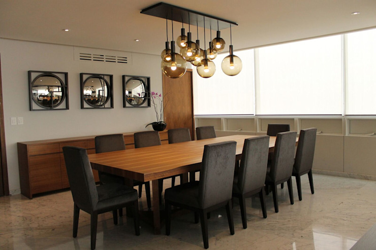 Departamento RK Comedores modernos de Concepto Taller de Arquitectura Moderno