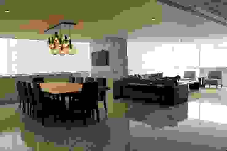 Departamento RK Salones modernos de Concepto Taller de Arquitectura Moderno