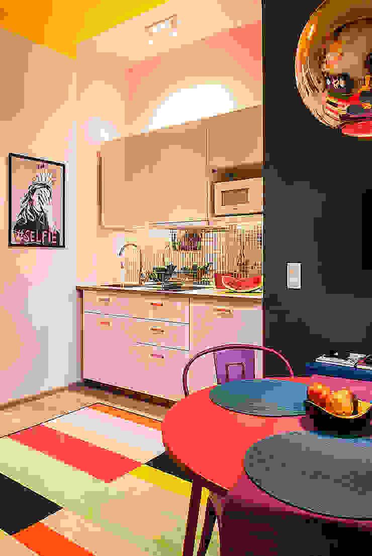 Finchstudio Cocinas de estilo moderno Multicolor