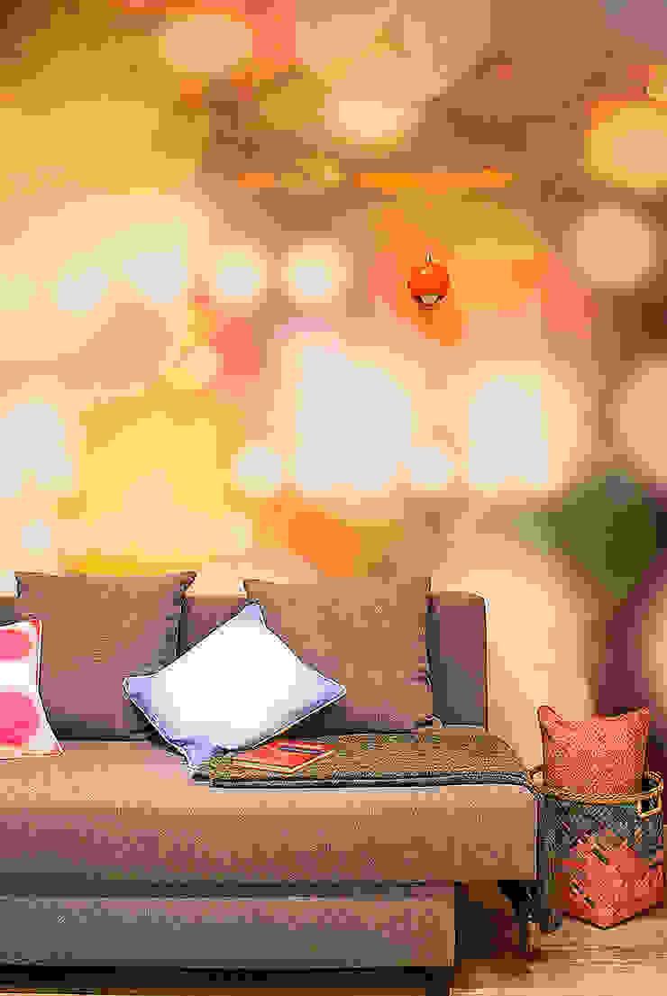 Finchstudio Salas de estilo moderno Multicolor