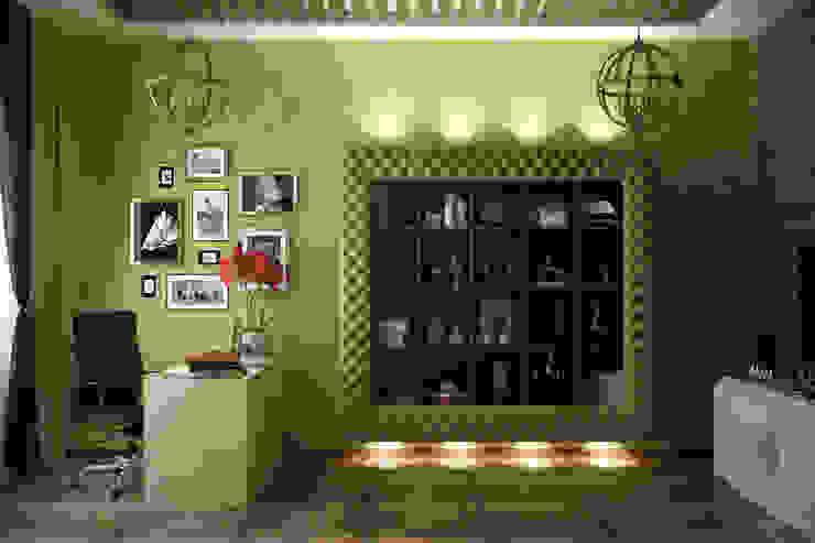 by Студия интерьерного дизайна happy.design Eclectic