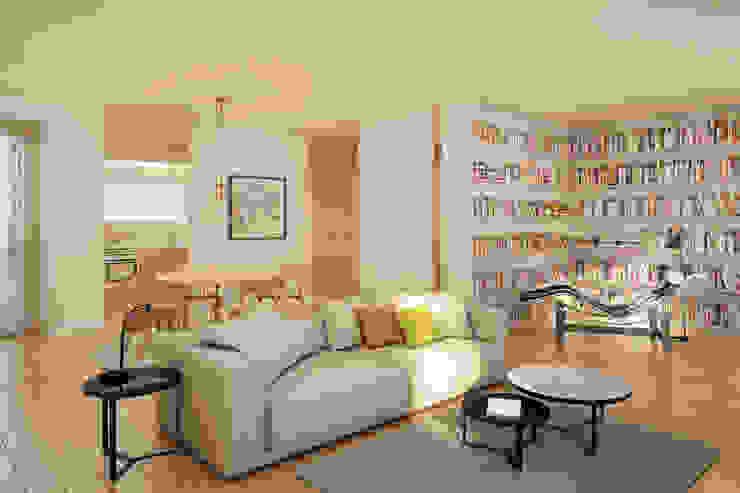 Imagem da Sala - zona de estar Salas de estar modernas por Pedro Serrazina Studio Moderno