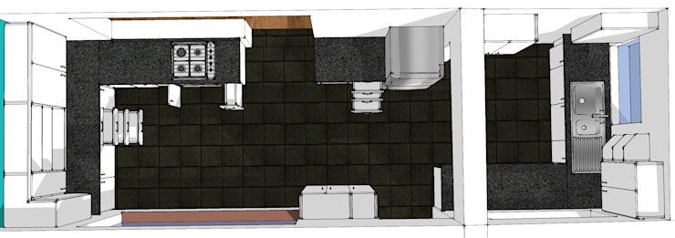 Design Overall view. Boss Custom Kitchens (PTY)LTD