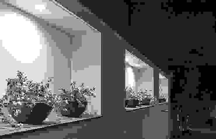 NICHOS DE BARDA LATERAL Casas modernas de Excelencia en Diseño Moderno Ladrillos