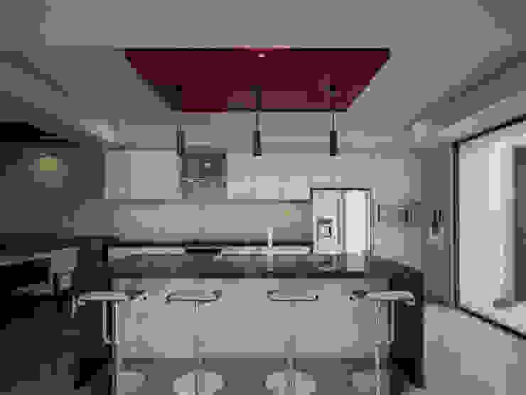 Cocina Casas modernas de PRISMA ARQUITECTOS Moderno Concreto