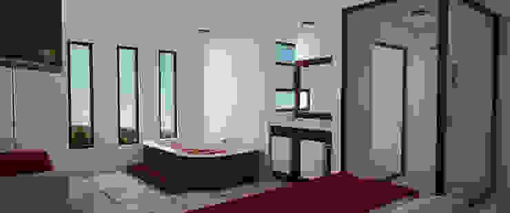 Suit Principal Dormitorios minimalistas de PRISMA ARQUITECTOS Minimalista Ladrillos