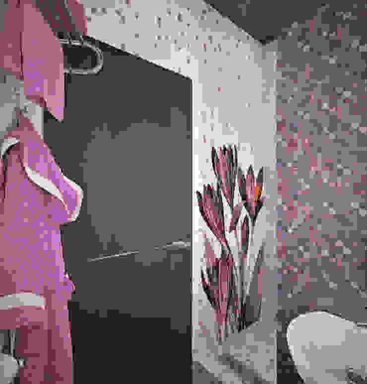 Moderne Badezimmer von Гурьянова Наталья Modern Fliesen