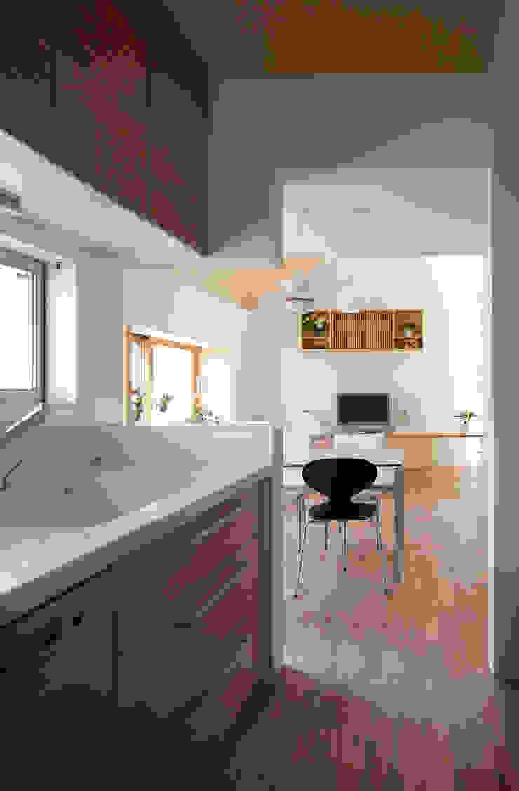 水石浩太建築設計室/ MIZUISHI Architect Atelier Salle à manger moderne