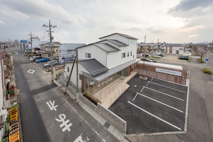 Modern Houses by 水石浩太建築設計室/ MIZUISHI Architect Atelier Modern