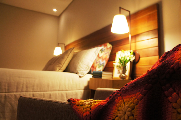 Rustik Yatak Odası Elisa Vasconcelos Arquitetura Interiores Rustik