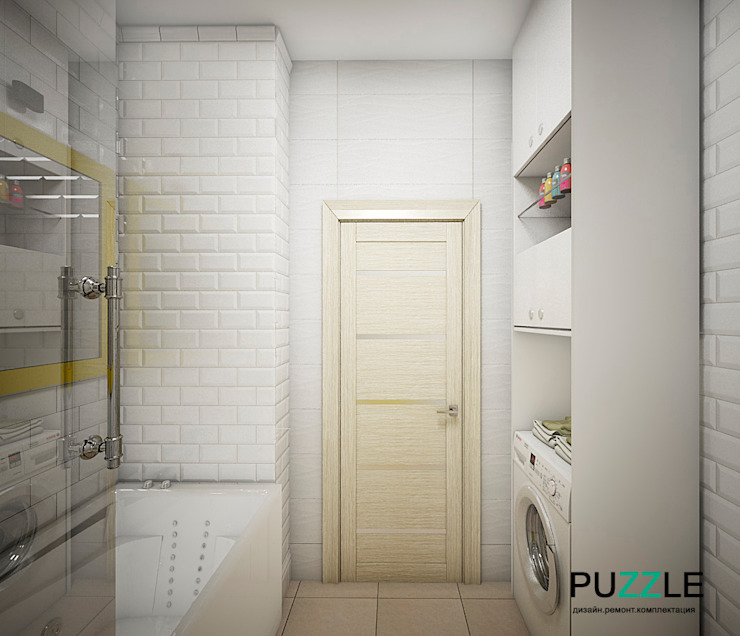 PUZZLE Modern bathroom