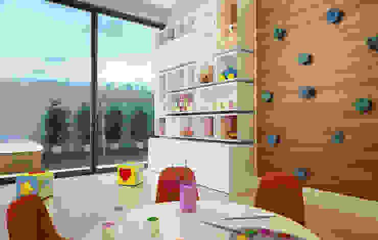 Brinquedoteca Quarto infantil moderno por André Petracco Arquitetura Moderno