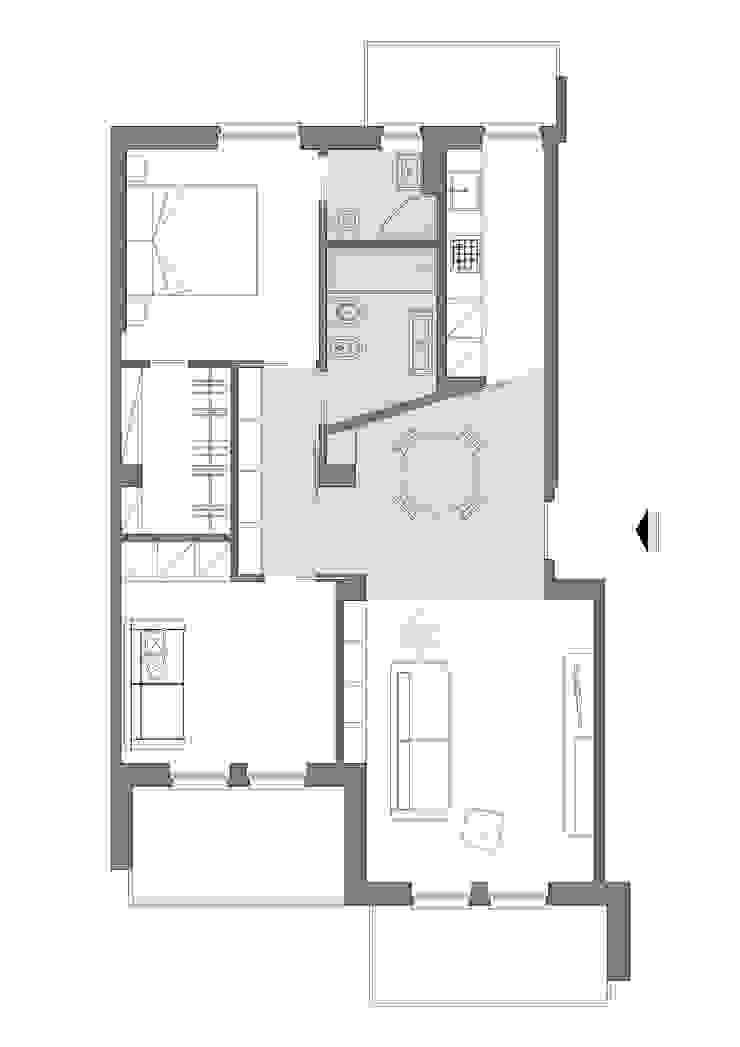 Casas de estilo minimalista de studio ferlazzo natoli Minimalista