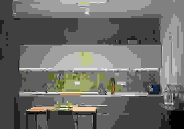 Modern kitchen by LAD studio Modern