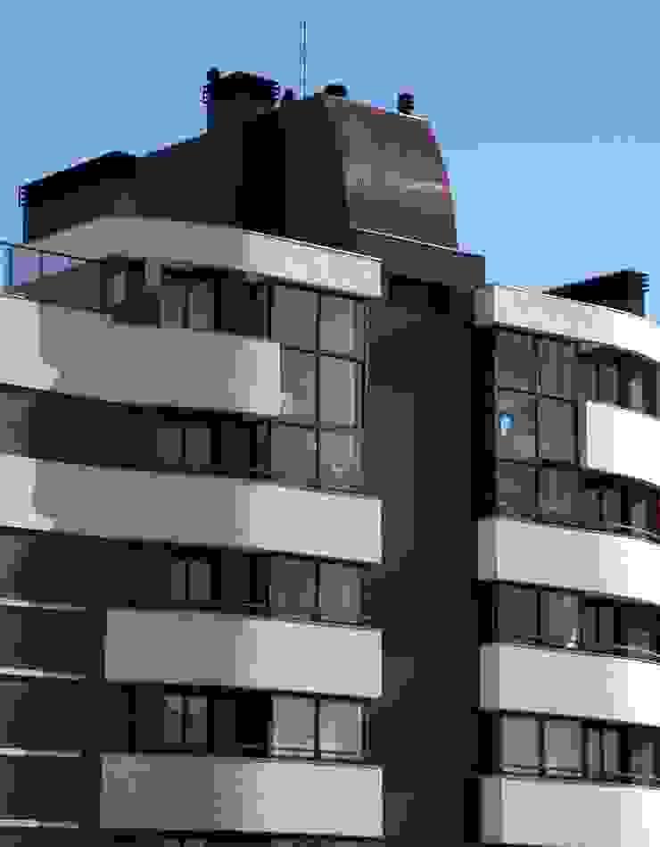 Fachada - Cobertura Casas modernas por André Petracco Arquitetura Moderno