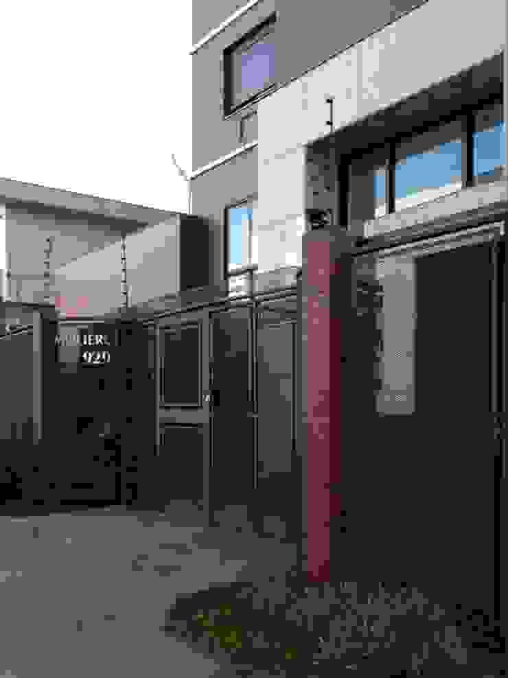 Fachada - Acesso Casas modernas por André Petracco Arquitetura Moderno