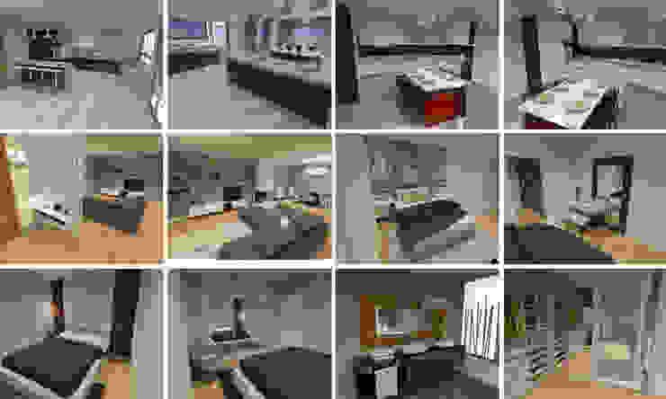 Projectos 3D por Intense mobiliário e interiores; Moderno