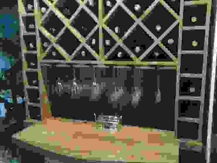 http://designsantaclara.blogspot.com.br/ por Ateliê Santa Clara Interiores Rústico Madeira Efeito de madeira