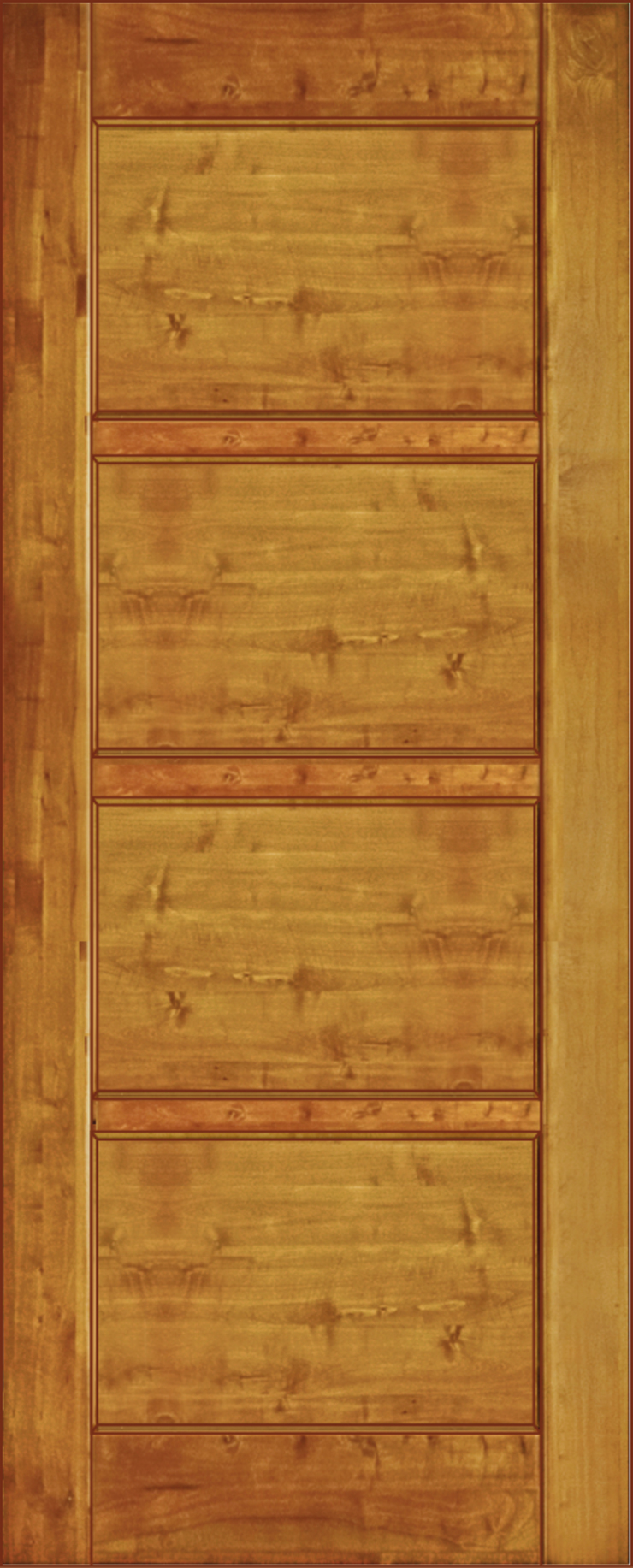 Ignisterra S.A. Rustic style windows & doors Wood Brown
