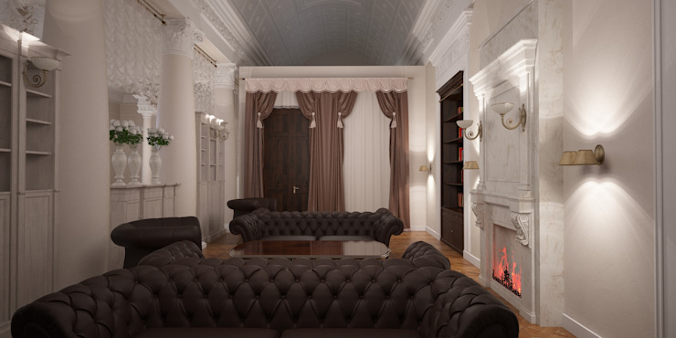 Classic style living room by Indika-art Classic