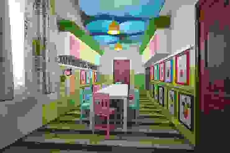 Stanza dei bambini eclettica di Indika-art Eclettico