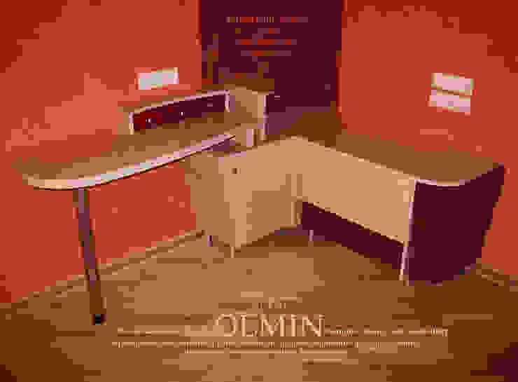 Дизайн – шкафы, тумбочки и пр. ИП OLMIN - Архитектурная студия Олега Минакова Спальная комната Стол для макияжа Фанера Розовый