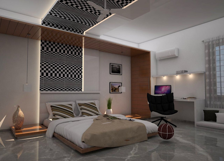 residential project - Bangalore : classic  by Studio Polygon,Classic