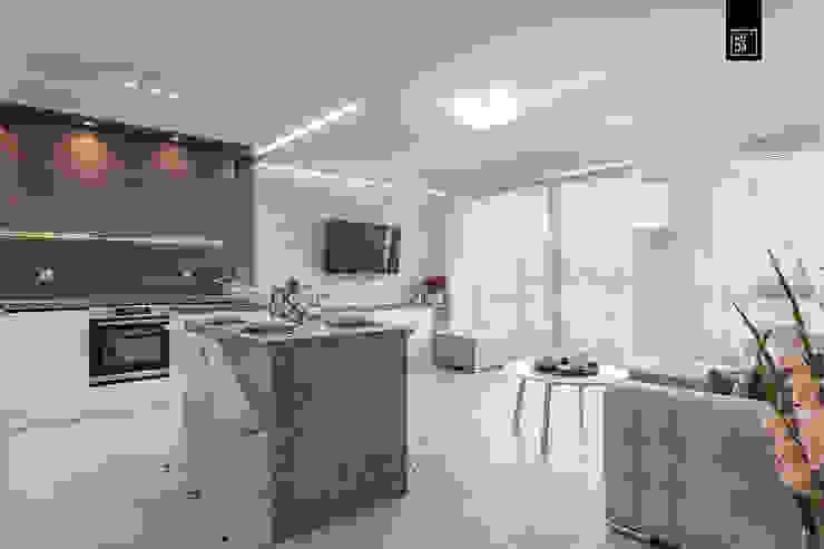 Modern dining room by KODO projekty i realizacje wnętrz Modern