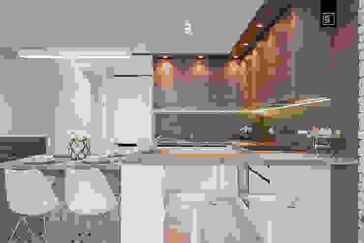 Кухня в стиле модерн от KODO projekty i realizacje wnętrz Модерн
