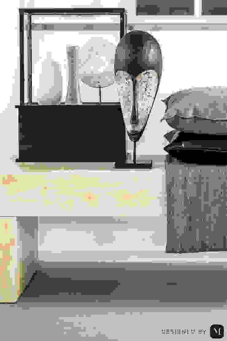 Eigen kantoor te Voorschoten Moderne woonkamers van Studio Mariska Jagt Modern