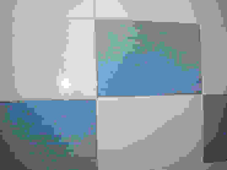 Atádega Sociedade de Construções, Lda 衛浴裝飾品 磁磚 Blue