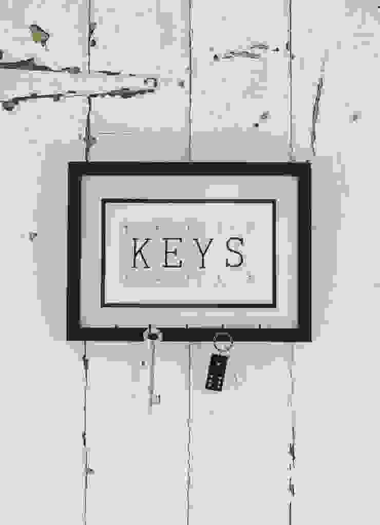 Vintage Playing Cards Key Holder par Little Mill House Éclectique