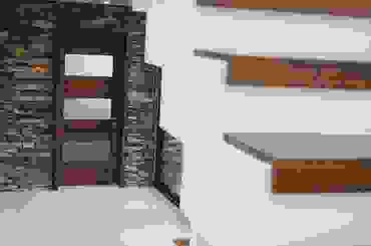 شبابيك  تنفيذ Ignisterra S.A., حداثي خشب Wood effect