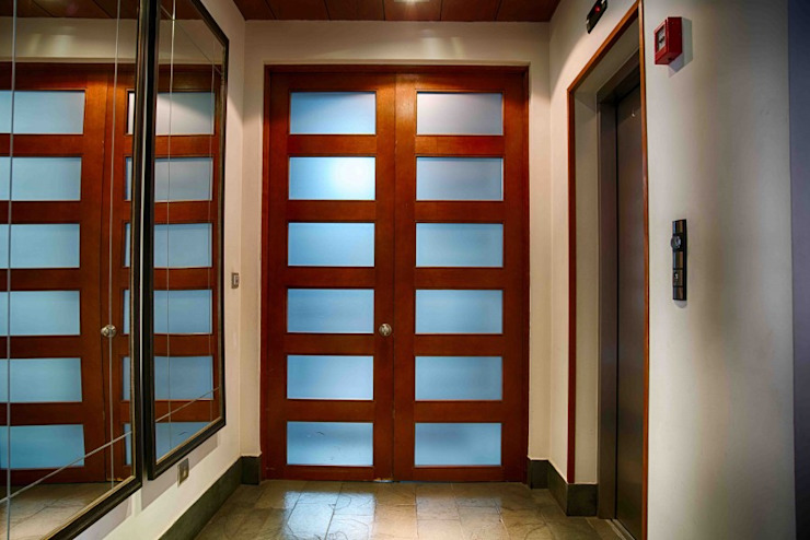 Modern windows & doors by Ignisterra S.A. Modern Wood Wood effect