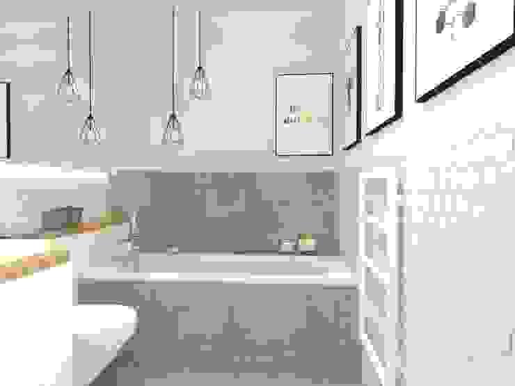 浴室 by Gabinet Wnętrz,