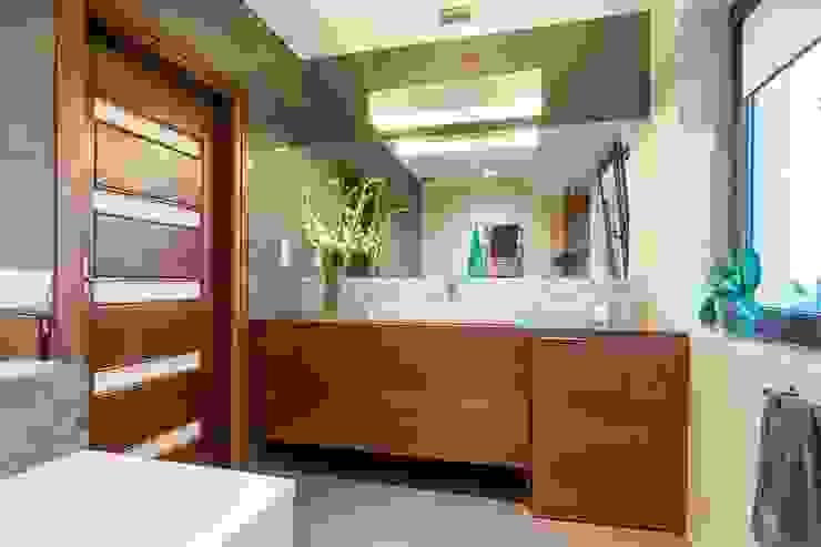 Ванная комната в стиле модерн от Gabinet Wnętrz Модерн