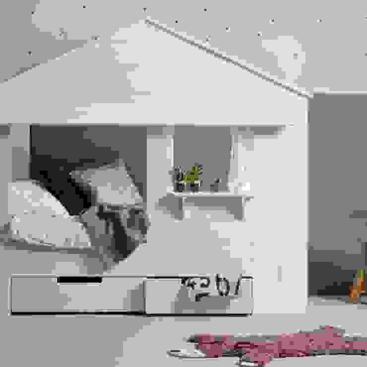 Детская комнатa в скандинавском стиле от homify Скандинавский Дерево Эффект древесины
