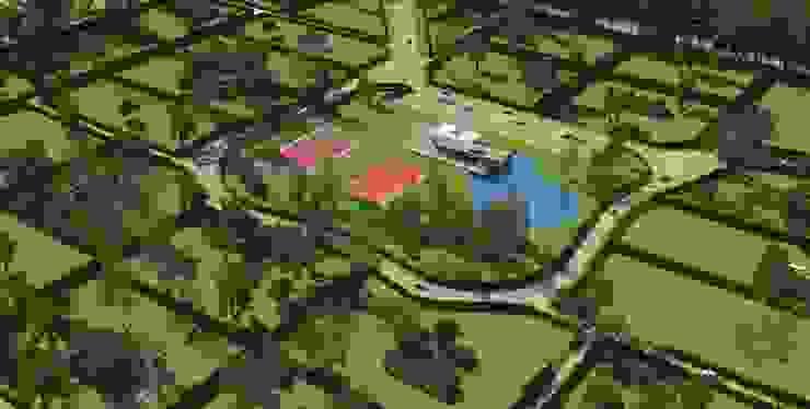 Casas de campo Casas modernas: Ideas, diseños y decoración de Nicolás Bello Moderno