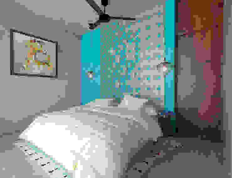 Habitación tipo Dormitorios rústicos de homify Rústico Concreto