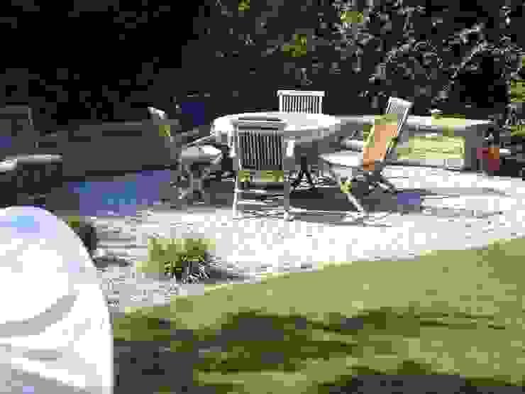 Detailansicht Sitzplatz dirlenbach - garten mit stil Garten im Landhausstil