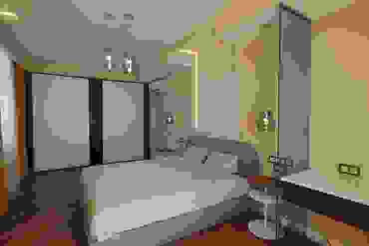 Bellarte interior studio Minimalist bedroom White