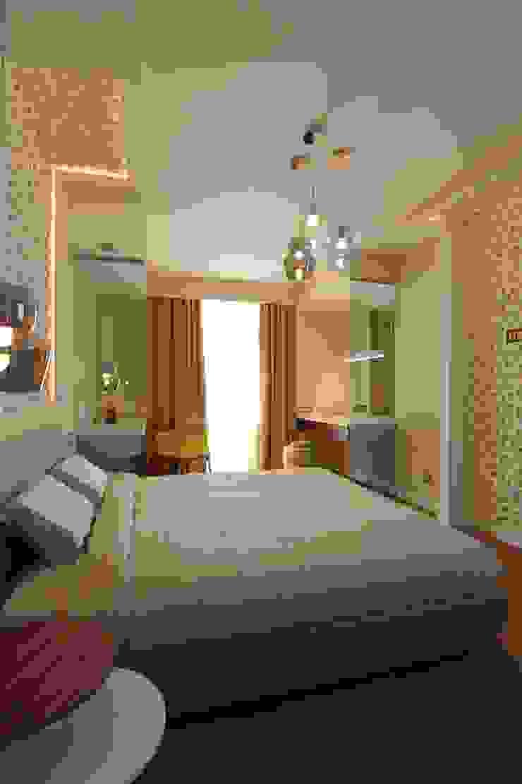 Bellarte interior studio Minimalist bedroom Beige